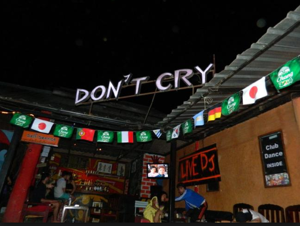 Don't Cry - Night in Pai things to do