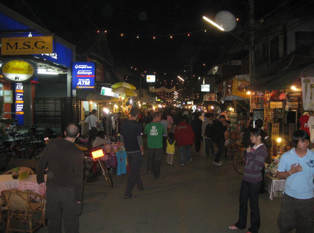 Pai Walking Street- Pai things to do