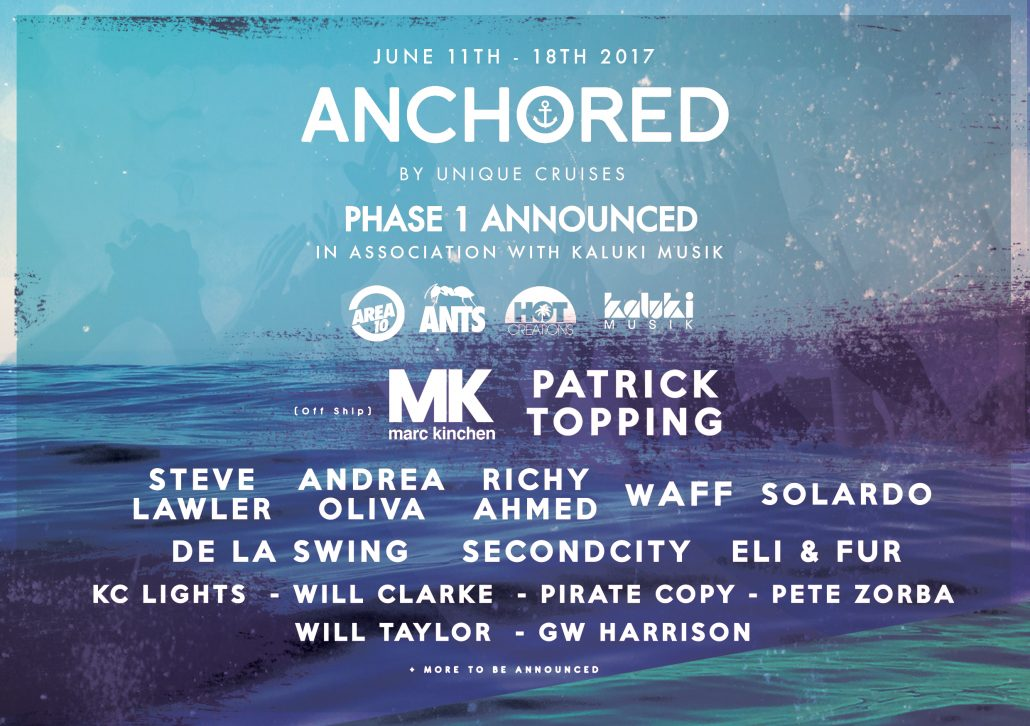 ANCHORED: Europe's Ultimate Week Long Cruise Music Festival
