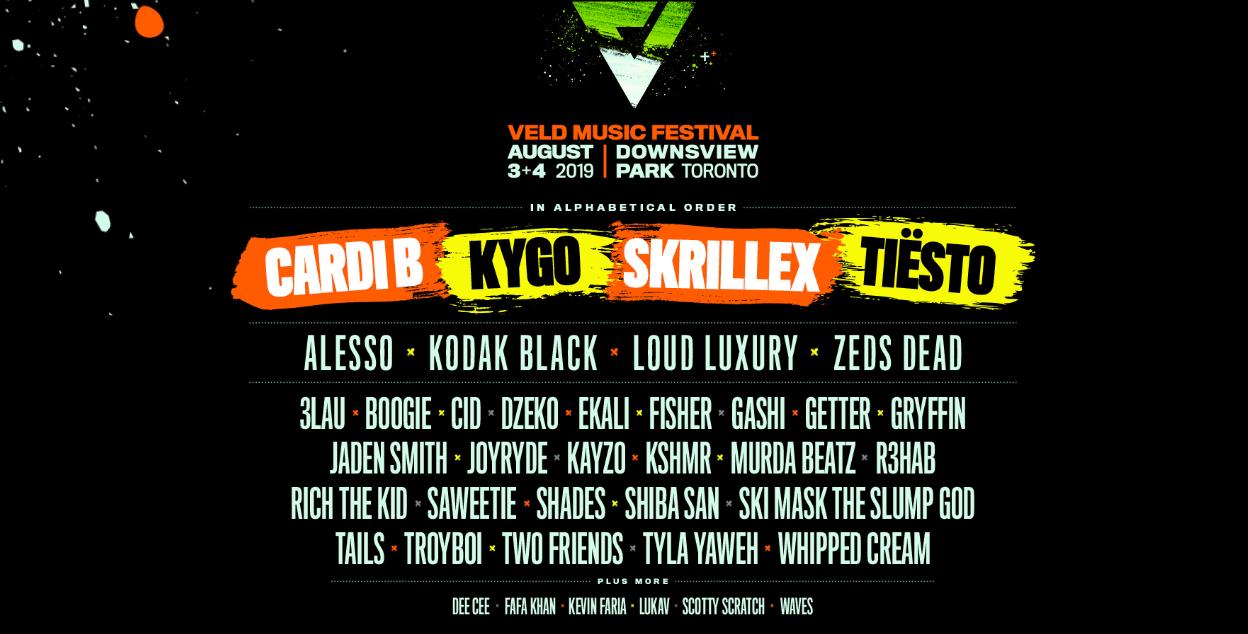 Veld Music Festival Canada 2019