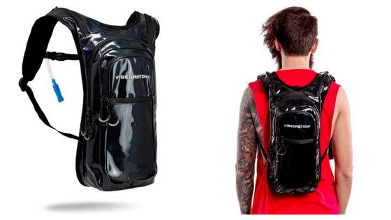 Vibedration Festival Hydration Backpack