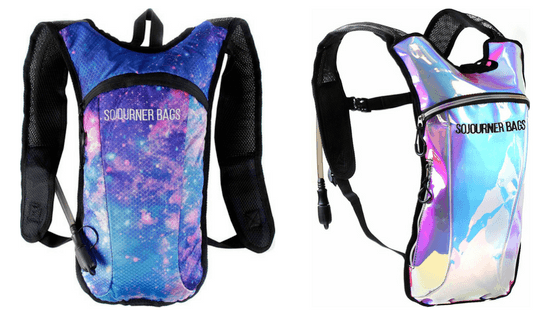 rave water backpack