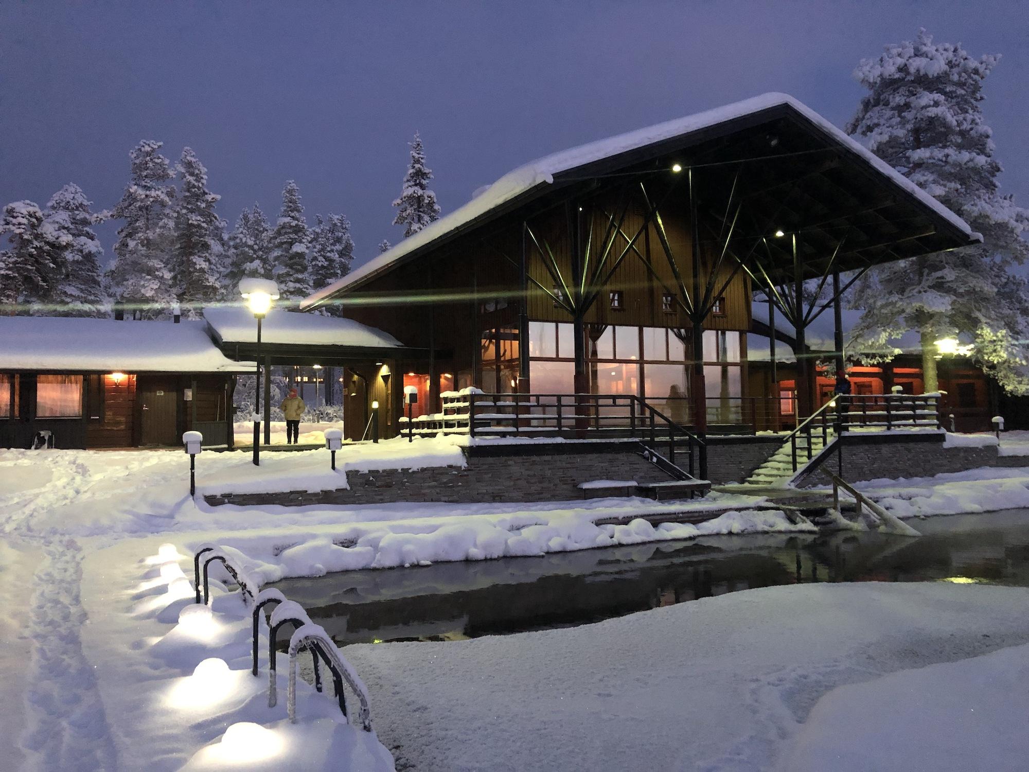 torassieppi village sauna finland