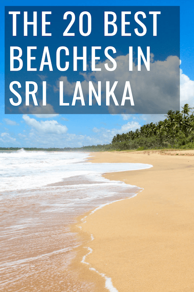 The 20 best beaches in Sri Lanka