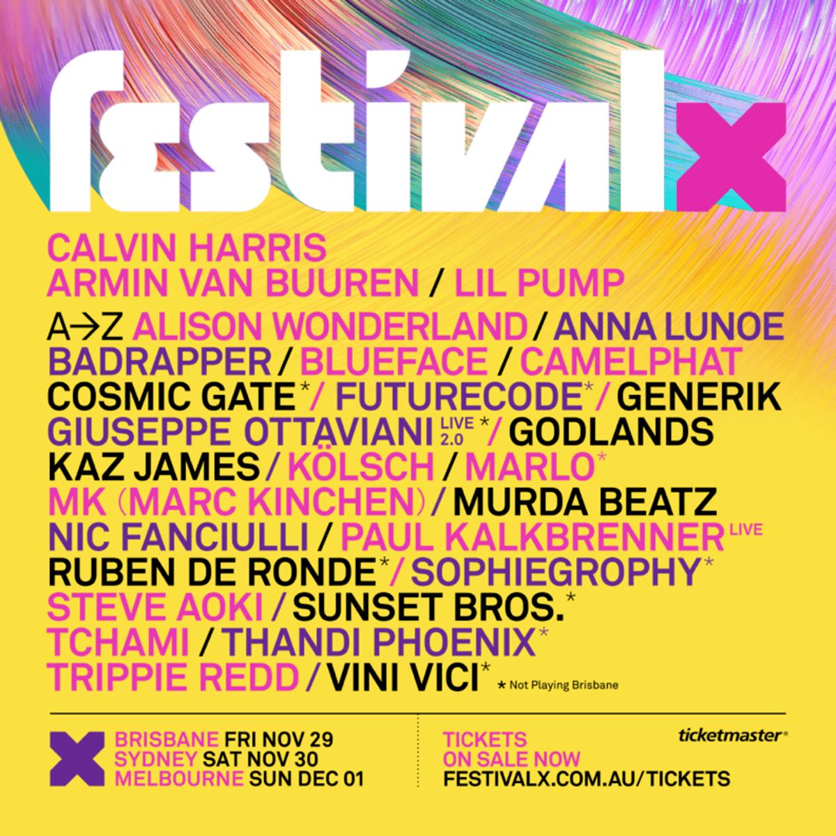 Festival X Ausrtralia - EDM Festivals